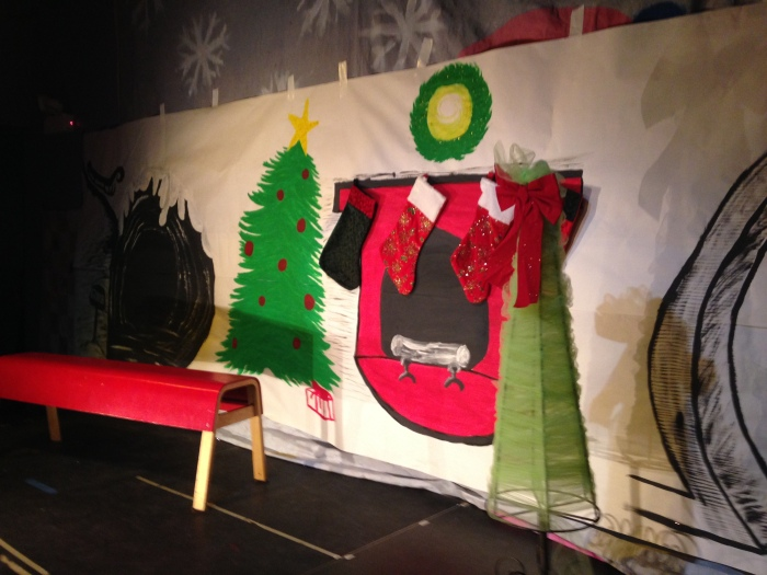 The Grinch Backdrop